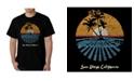 LA Pop Art Men's Word Art - Cities in San Diego T-Shirt