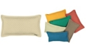 "Mod Lifestyles Honeycomb Texture Lumbar Pillow Flange Edge, 14"" x 26"""