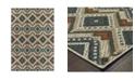"JHB Design Scope SCO02 Gray 9'10"" x 12'10"" Area Rug"