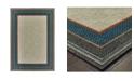 "JHB Design Scope SCO10 Gray 6'7"" x 9'2"" Area Rug"