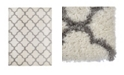 "Global Rug Designs Barnes Bar04 Ivory 7'10"" x 10'2"" Area Rug"