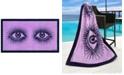 Jonathan Adler Eyes Beach Towel