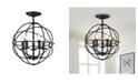 "Home Accessories Shindan 16"" 5-Light Indoor Chandelier with Light Kit"
