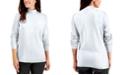 Karen Scott Plus Size Mock Neck Top, Created for Macy's