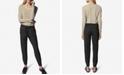b new york Drawstring Pull-On Jogging Pants