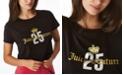 Juicy Couture Women's Rhinestone Crown T-shirt