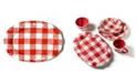 Coton Colors Buffalo Ruffle Oval Platter
