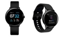iTouch Men's Sport's Black Silicone Strap Smart Watch 43.2mm