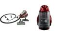 Atrix AHC-RR Revo Red Bagless HEPA Canister Vacuum