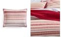 Martha Stewart Collection Holiday Yarn-Dye Quilted King Sham