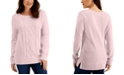 Karen Scott Cable-Knit Sweater, Created for Macy's