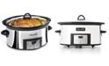 Calphalon Crock-Pot SCCPVC600-P-A 6-Qt. Countdown Slow Cooker