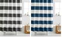 Cassadecor 100% Cotton Stripe Shower Curtain