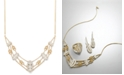 Wrapped in Love Antique Diamond Frontal Necklace (1-1/2 ct. t.w.) in 14k Gold, Created for Macy's