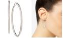 """Nine West Silver-Tone 1-3/4"""" Hoop Earrings"""