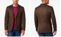 Lauren Ralph Lauren Men's Classic-Fit Soft Wool Brown Herringbone Sport Coat