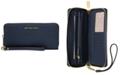 Michael Kors Jet Set Travel Crossgrain Leather Continental Wallet
