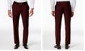 INC International Concepts INC Men's Slim-Fit Burgundy Pants, Created for Macy's