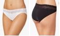 Natori Bliss Perfection Lace-Waist Bikini Underwear 756092