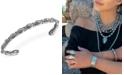 American West Concha Cuff Bracelet in Sterling Silver