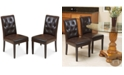 Noble House Maldan Dining Chairs (Set Of 2)