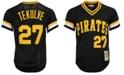 Mitchell & Ness Men's Kent Tekulve Pittsburgh Pirates Authentic Mesh Batting Practice V-Neck Jersey