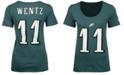 Nike Women's Carson Wentz Philadelphia Eagles Player Pride T-Shirt