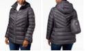 Michael Kors Plus Size Ruched Packable Down Coat