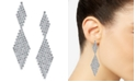 INC International Concepts INC Crystal Mesh Drop Earrings, Created for Macy's