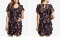 Jessica Simpson Maternity Ruffled Floral-Print Dress