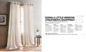 """DKNY Bouclé Plaid 50"""" x 63"""" Grommet Pair of Window Panels"""