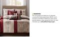 Madison Park Donovan 7-Pc. Medallion Jacquard Comforter Set Collection