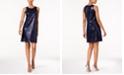 MSK Sequined Shift Dress