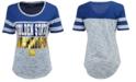 5th & Ocean Women's Golden State Warriors Space Dye Foil T-Shirt