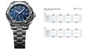 TAG Heuer Men's Swiss Automatic Chronograph Aquaracer Stainless Steel Bracelet Watch 44mm CAP2112.BA0833