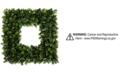 "Trademark Global Pure Garden Faux Boxwood 16.5"" Square Wreath"