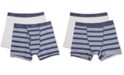 Calvin Klein 2-Pk. Cotton Boxer Briefs, Little & Big Boys