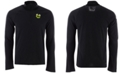 adidas Men's Chicago Blackhawks Secondary Logo Climatelite Quarter-Zip Pullover