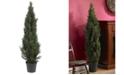 Nearly Natural 5' Mini Cedar Pine Indoor/Outdoor Tree