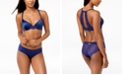 INC International Concepts INC Smooth & Lace Racerback Demi Bra & Lace-Back Hipster, Created for Macy's