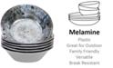 Certified International Radiance Cream Melamine All Purpose Bowls, Set of 6