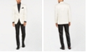 Sean John Men's Classic-Fit White/Black Tuxedo Suit Separates