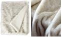 De Moocci Faux Fur Throw Blanket, Super Soft Fuzzy Light Weight Luxurious - 50 x 60