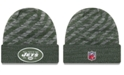 New Era New York Jets Touch Down Knit Hat