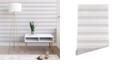 Deny Designs Holli Zollinger French Linen Stripe Navy 2'x10' Wallpaper