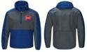 G-III Sports Men's Detroit Pistons Leadoff Lightweight Half-Zip Jacket