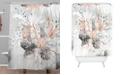 Deny Designs Iveta Abolina Tropical Silver Shower Curtain