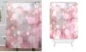 Deny Designs Iveta Abolina Pearl Cream Shower Curtain