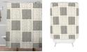 Deny Designs Iveta Abolina Mud Cloth Inspo IV Shower Curtain