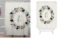 Deny Designs Iveta Abolina Silver Dove Christmas E Shower Curtain
